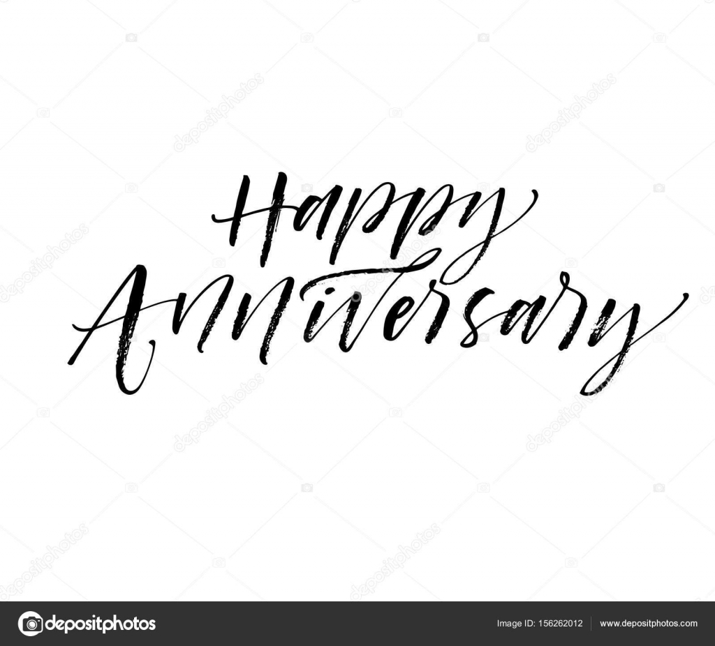 Happy Anniversary card — Stock Vector © gevko93 #156262012