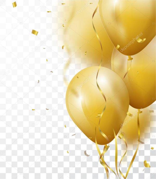 celebration background gold confetti