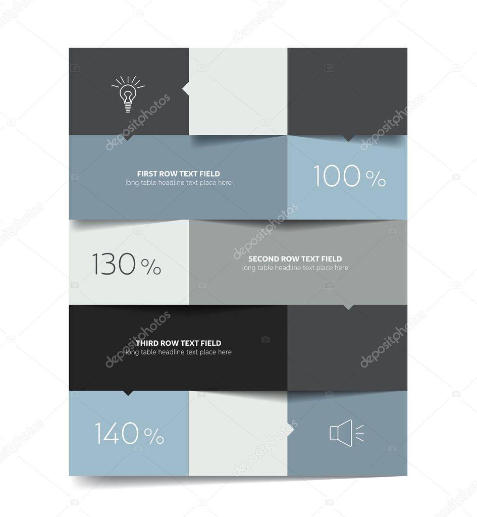 hight resolution of piazza scheda diagramma di flusso diagramma box vettoriale stock