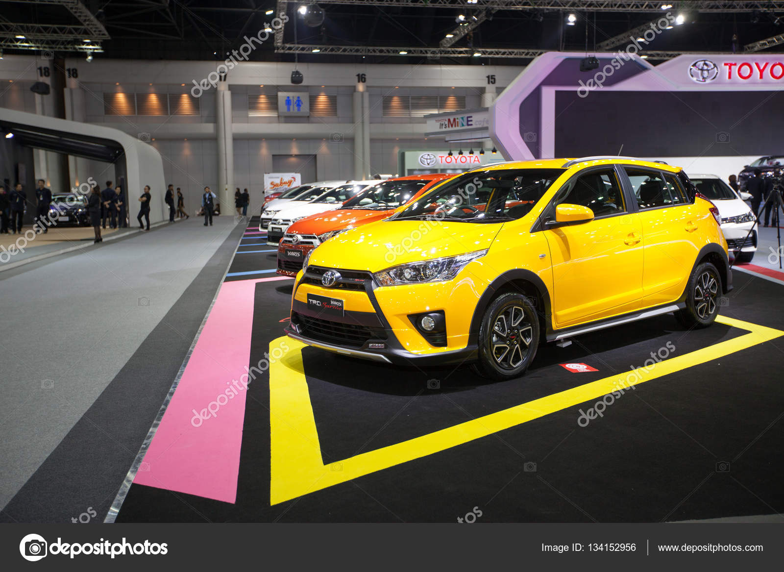 new yaris trd agya bangkok november 30 toyota sportivo car on display at motor expo 2016 in thailand photo by bankerwin