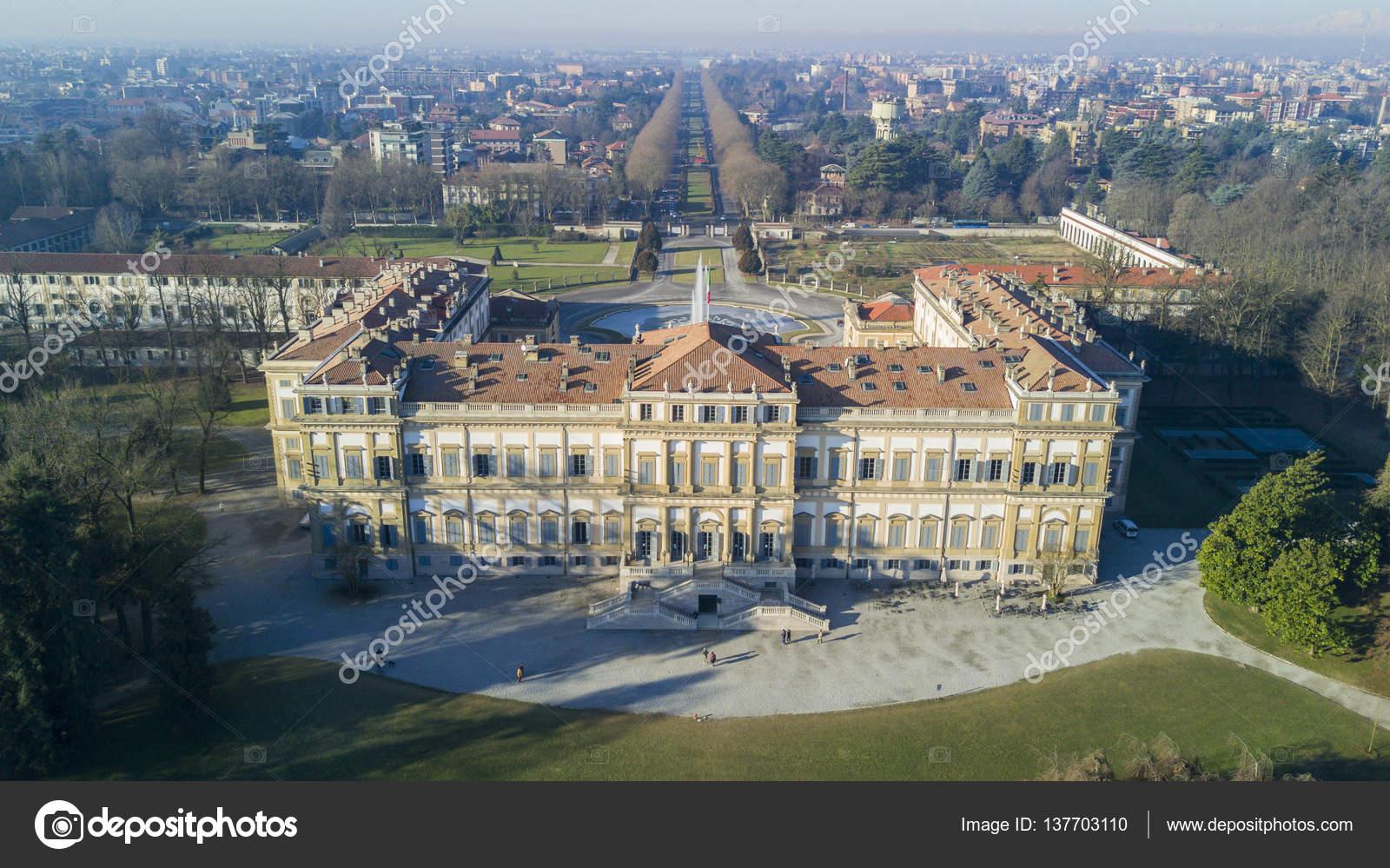 Villa Reale Monza Italia  Foto Editoriale Stock