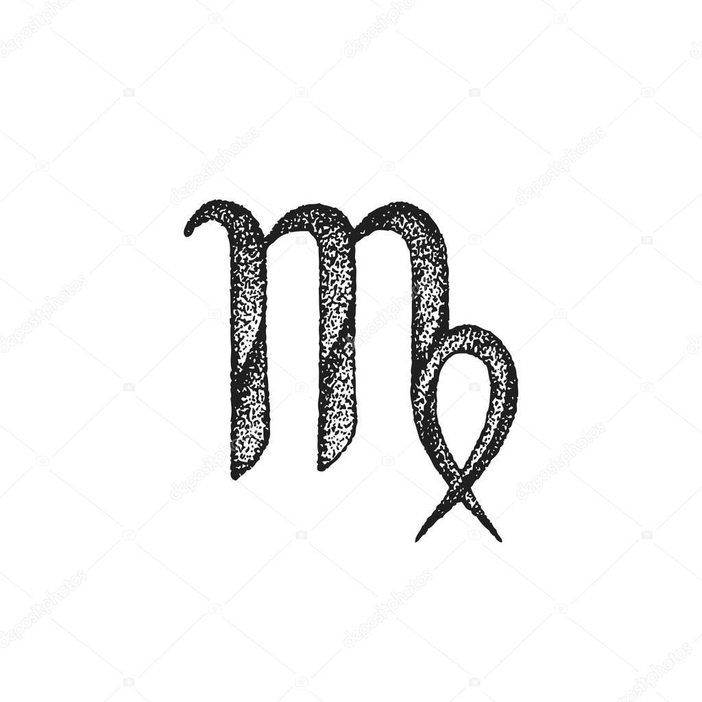 Imágenes Virgo Para Tatuajes Mano Dibujada Virgo Zodiaco Sig