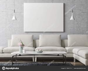living background wall concrete modern poster paints illustration decor canvas mosaic painting trends gray artwork interior 3d mockup choose graphic