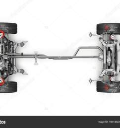 suv car under carriage technical 3 d rendering top view stock photo [ 1600 x 1059 Pixel ]