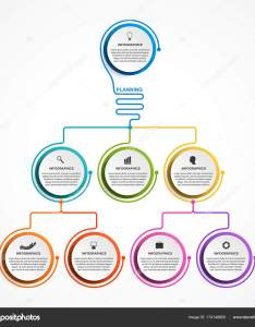 Infographic design organization chart template for business presentations information banner timeline or web also rh depositphotos
