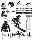 Nordic skiing — Stock Vector © bojanovic #2526963