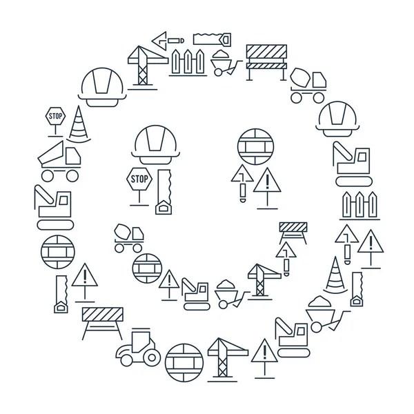 Agricultor y los iconos de dibujos animados de agricultura