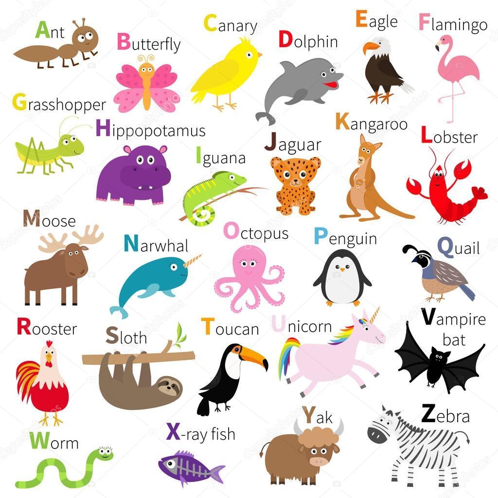 Cute Cartoon Sloth Wallpaper Zoo Animals Alphabet Stock Vector 169 Worldofvector 149113625