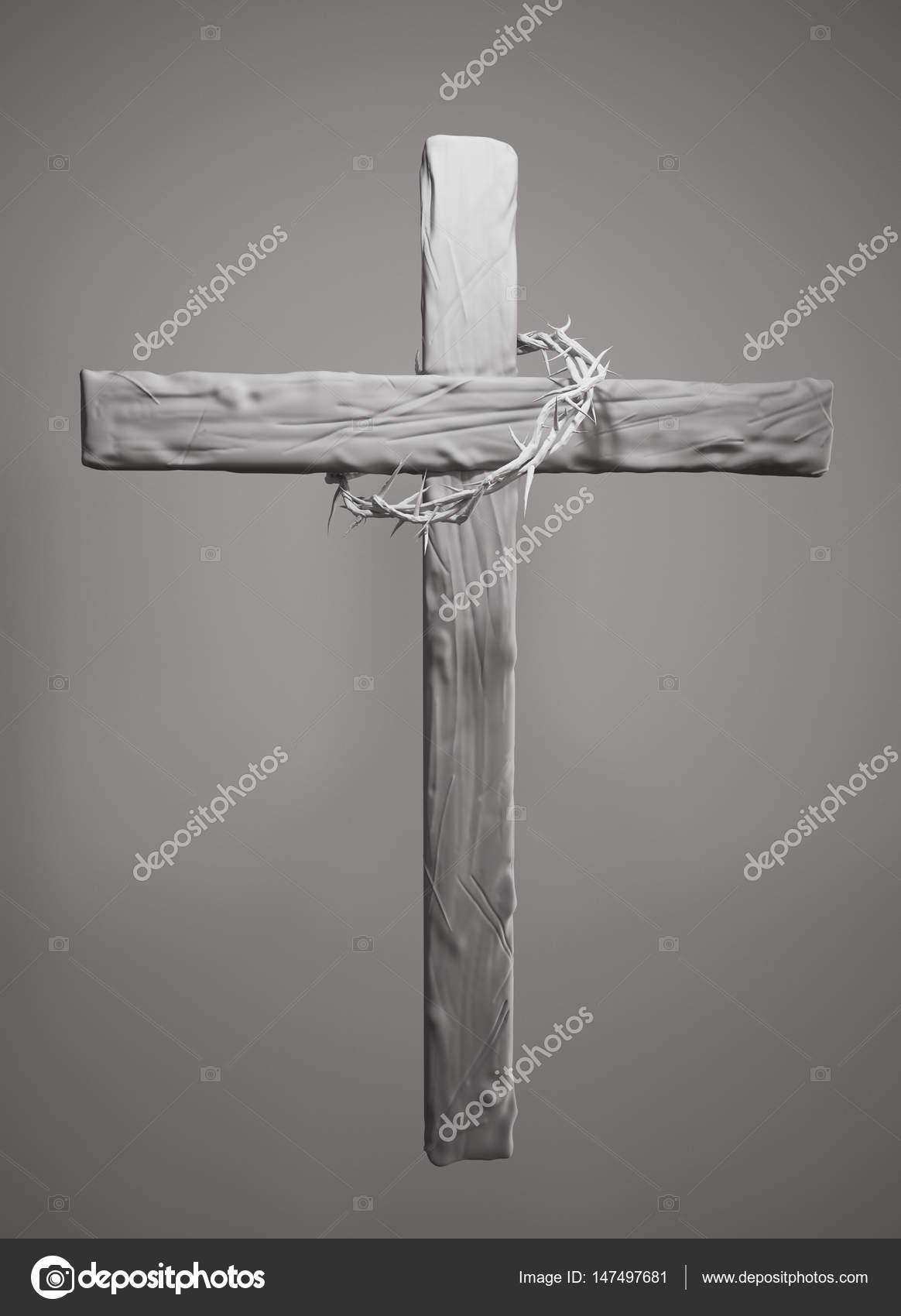 Gambar Salib Paskah : gambar, salib, paskah, Crown, Thorns, Sekitar, Salib, Paskah, Rendering, Natanaelginting, #147497681