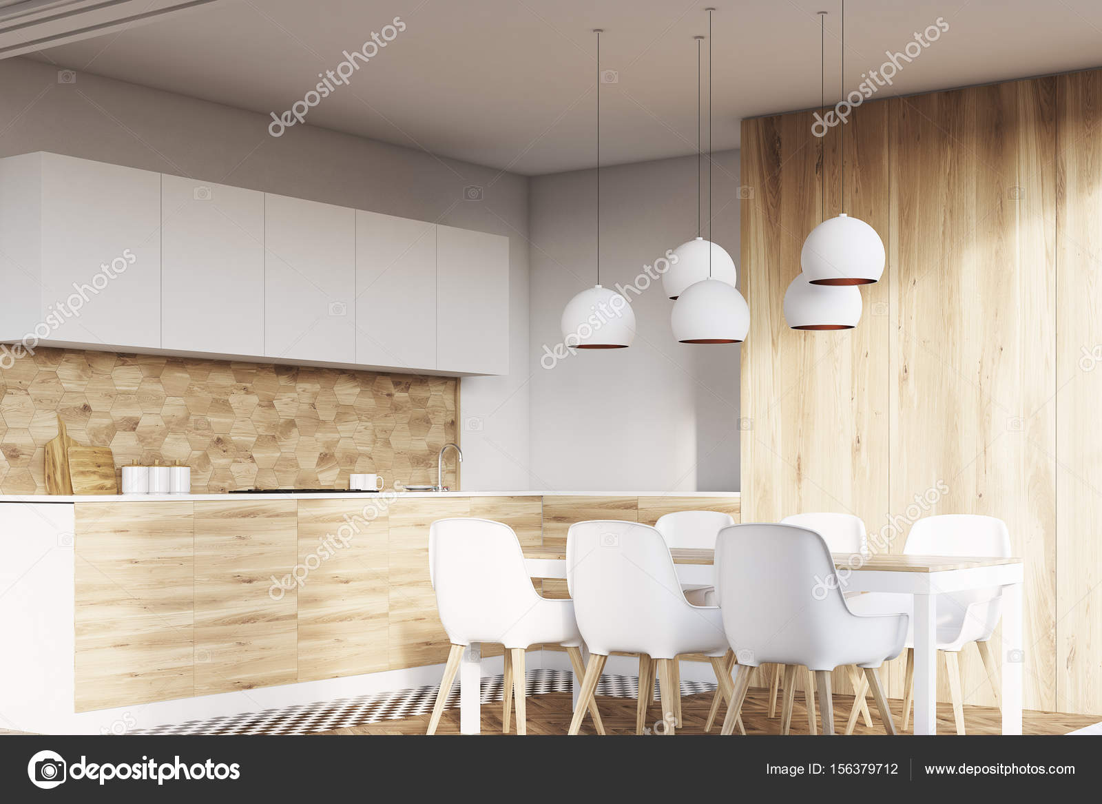 kitchen table nook pull out faucet 轻木餐厅角落 图库照片 c denisismagilov 156379712 与白色的墙壁和木地板的轻木厨房室内的角落 白色的椅子和台面餐桌 3d 渲染小样 照片作者denisismagilov