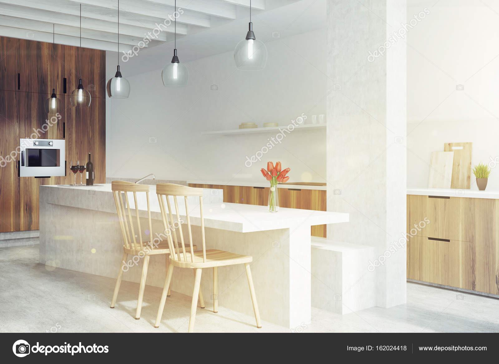 kitchen ovens chicago faucets 大理石酒吧白色的厨房 烤箱定调子 图库照片 c denisismagilov 162024418