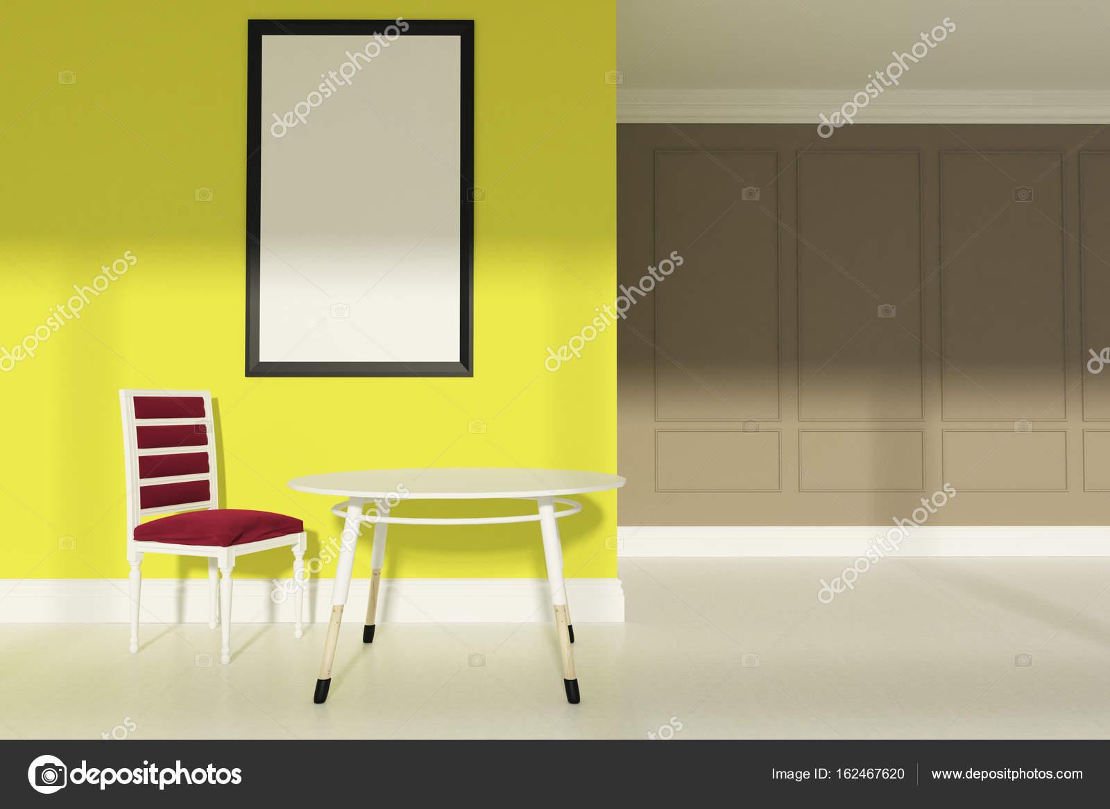 Woonkamer Geel Interieur Kleuren Geel Met Zwart With