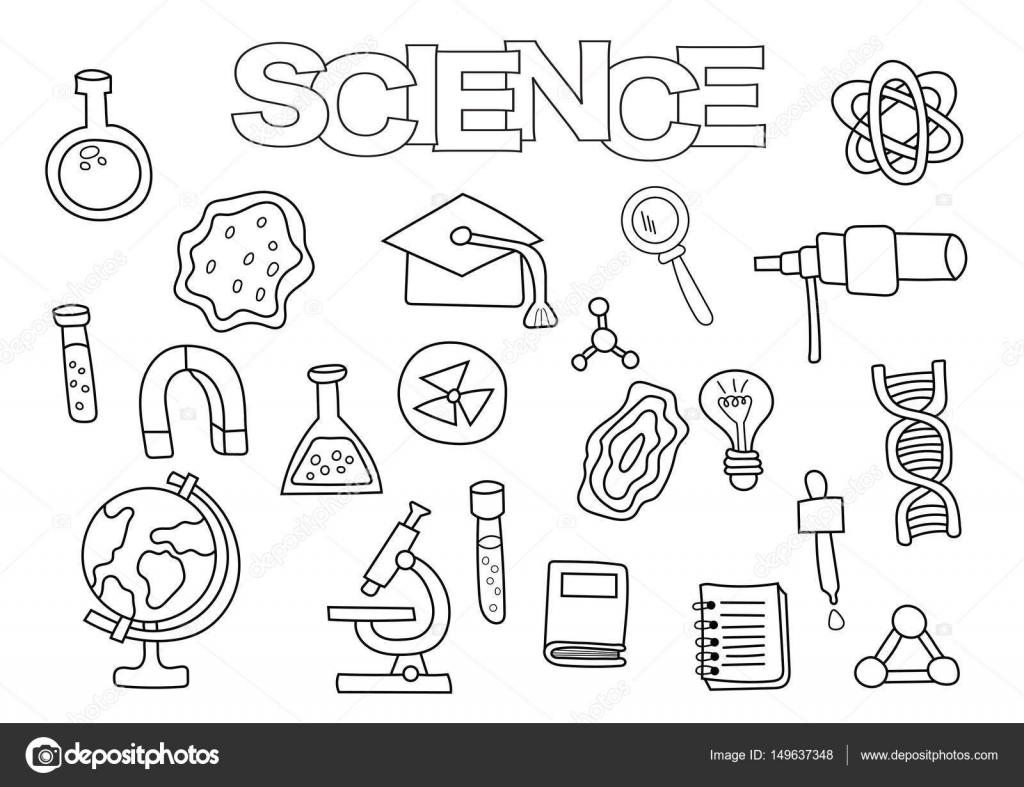 Dibujos Fisica Y Quimica Para Colorear