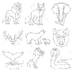 Galaxy wolf Stock Vectors Royalty Free Galaxy wolf Illustrations Depositphotos®
