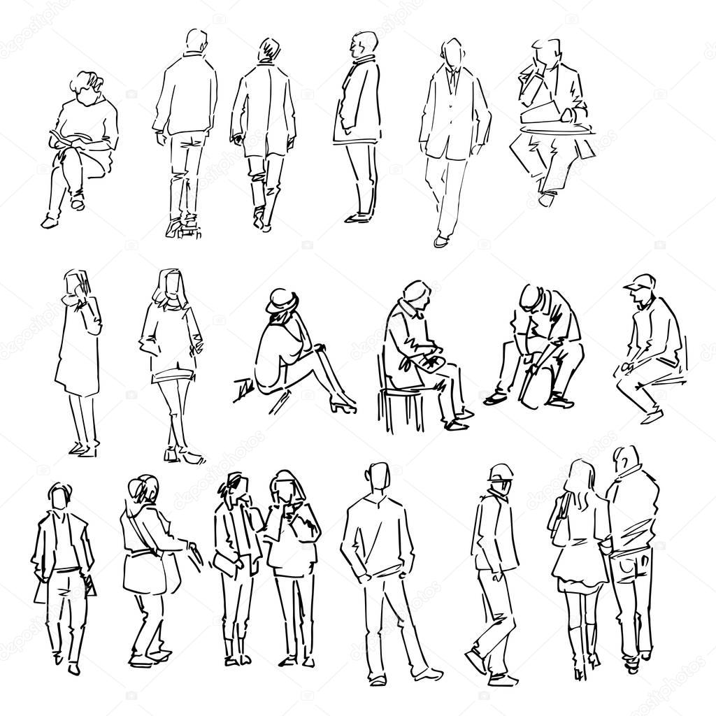 Architects Sketch People Switchsecuritycompanies