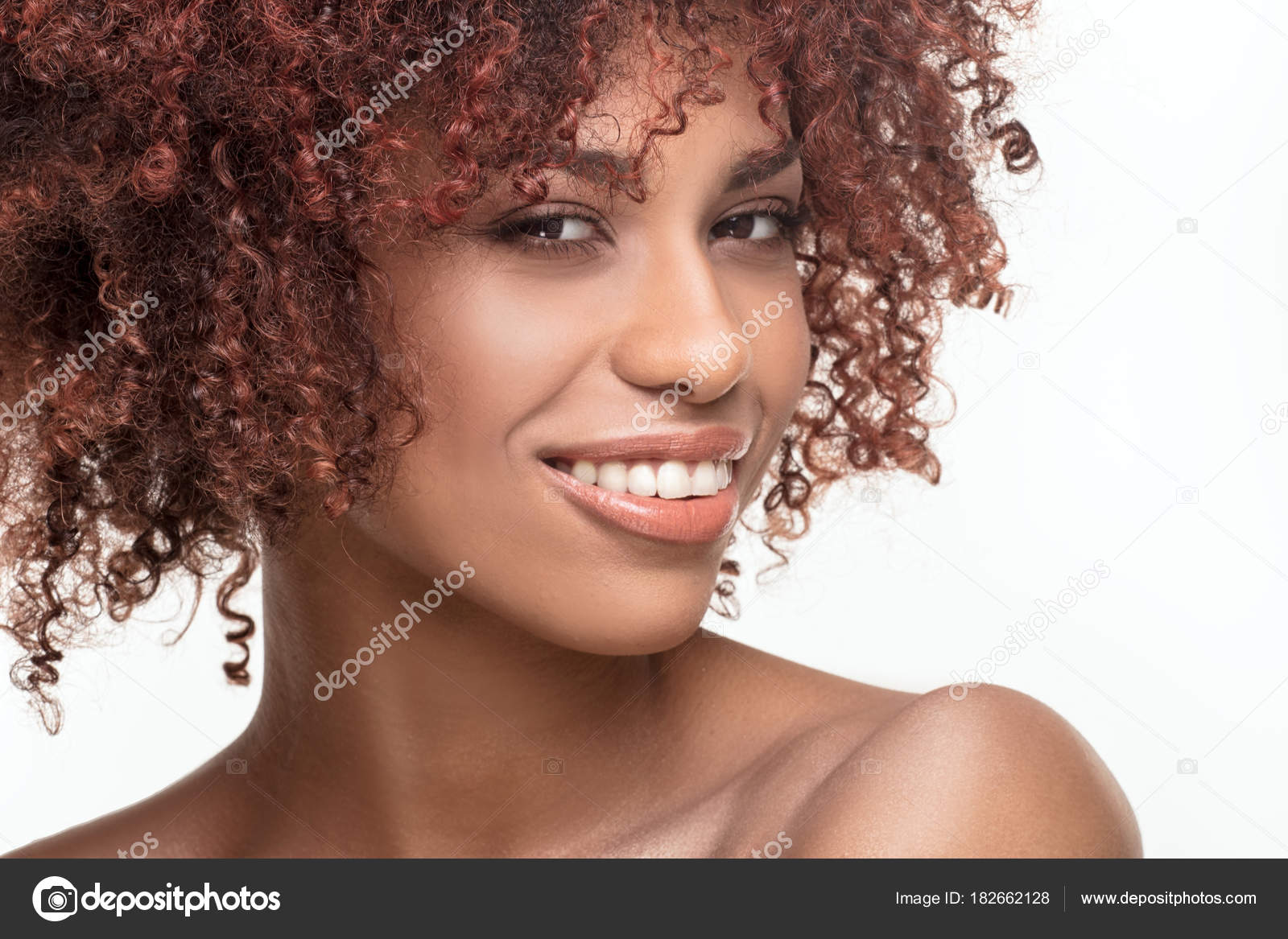 Images African American Natural Hairstyles Beauty Portrait Of