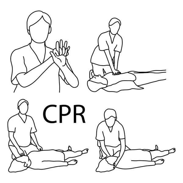 Cpr training Stock Vectors, Royalty Free Cpr training