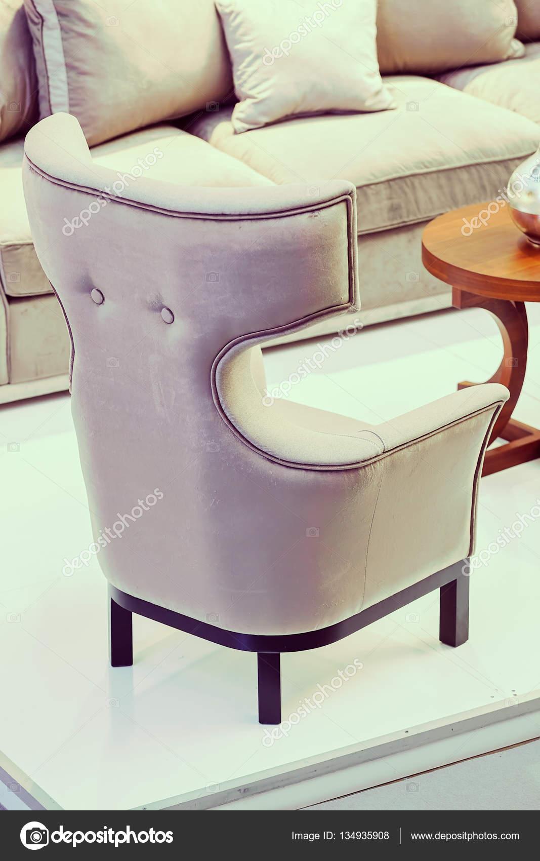 unusual armchair natuzzi revive chair in interior stock photo c vladimirnenezic 134935908