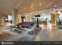 Modern Luxury Hotel Lounge Stock Rilueda #163565578