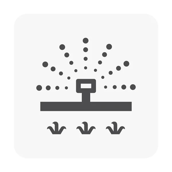 Irrigation sprinkler icon — Stock Vector © roncivil #122941416