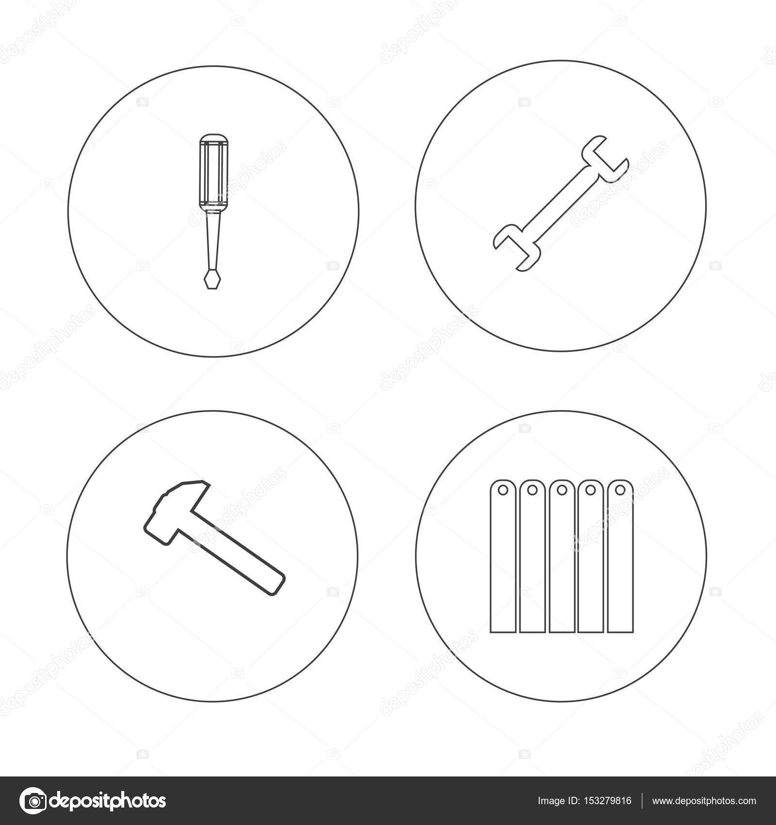 hight resolution of hvac drawing tools basic electronics wiring diagramhvac and heating repair tools logo u2014 stock