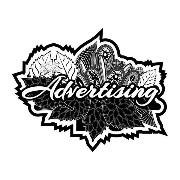 Design Hand Lettering Typography Text Doodles Vector