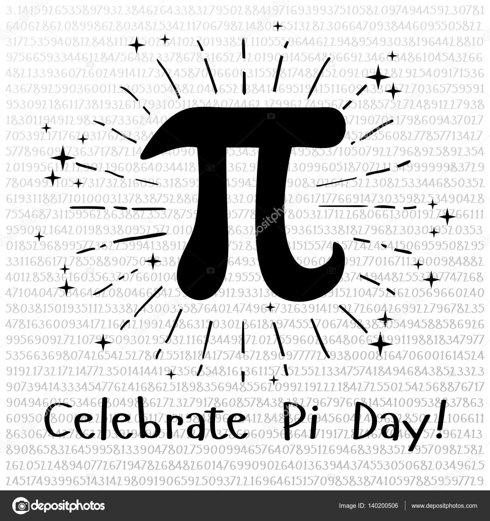 Happy Pi Day Celebrate Pi Day Mathematical Constant
