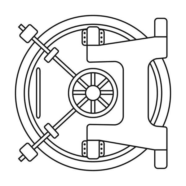 Line flat vector computer part icon power supply. Cartoon