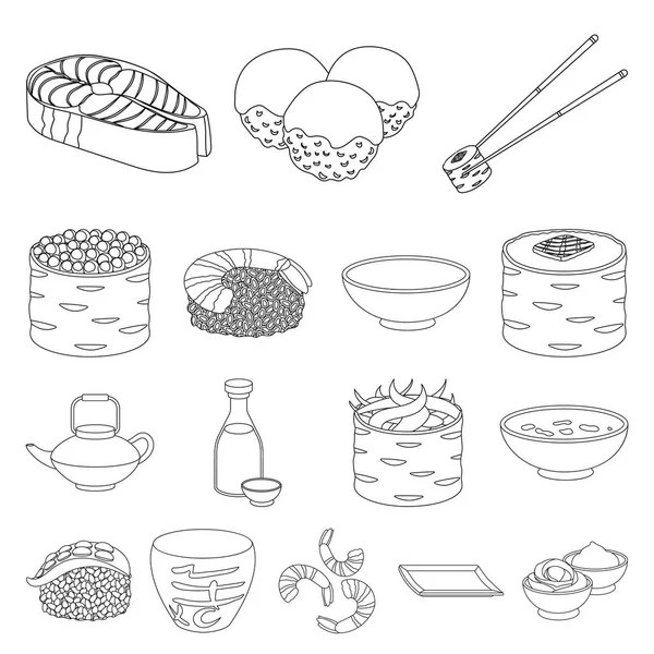 Sketchy style coloring book page of desserts and sweets