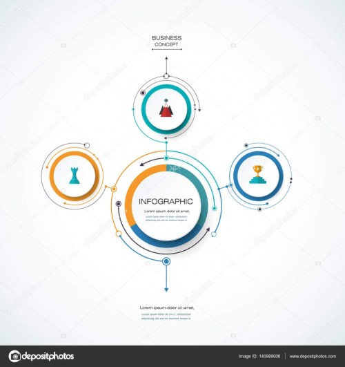 small resolution of infographics for business presentations or information banner process diagram flow chart graph scheme vector by