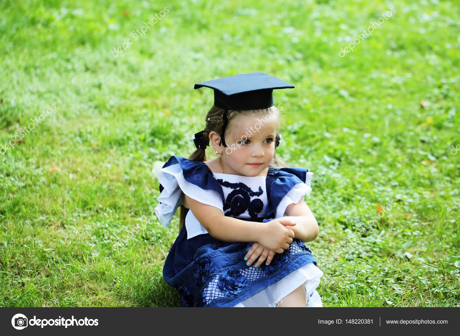 Pictures Black Hairstyles For Graduation Cute Little Girl With