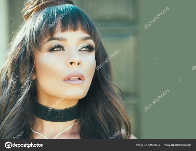 visage make skincare concept girl makeup face healthy skin