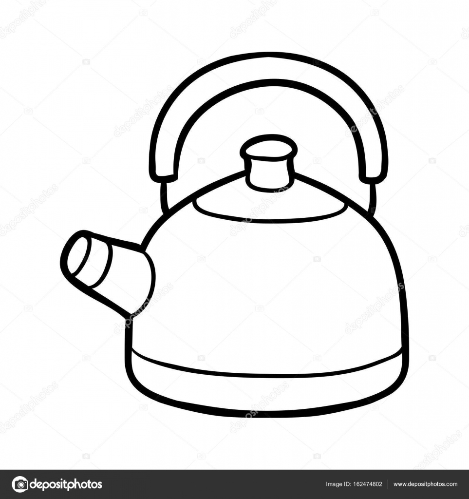 Teapot Kettle Or Tea Pot Clip Art Free Vector In Open