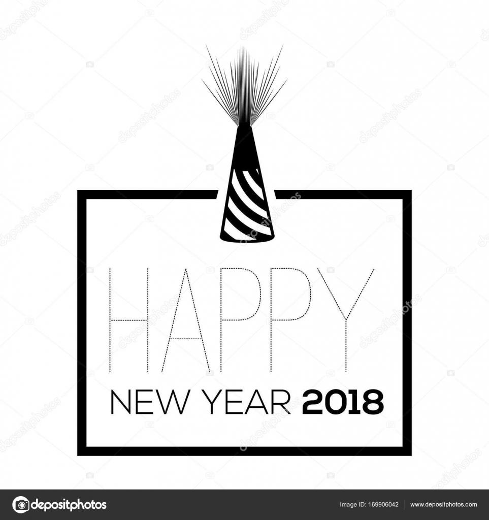 Boldog új évet poszter — Stock Vektor © LAUDiseno #169906042