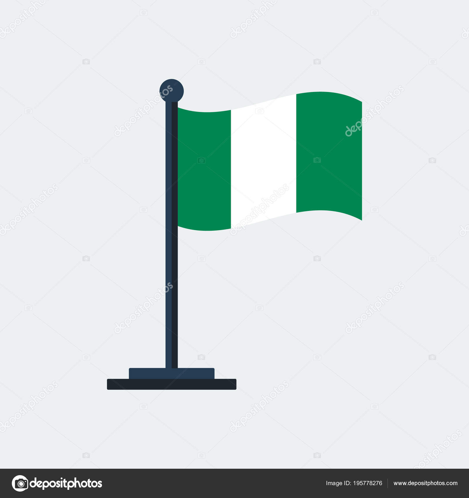What Does The Colour In Nigerian Flag Stand For