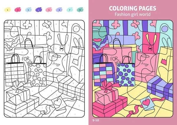 Libro de colorear de qumico. Abc de la profesin