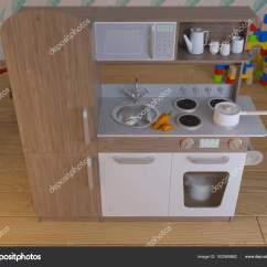 Childrens Kitchens Kitchen Collectibles 儿童厨房设计室内游戏设置与配件 图库照片 C Richman21 162569862