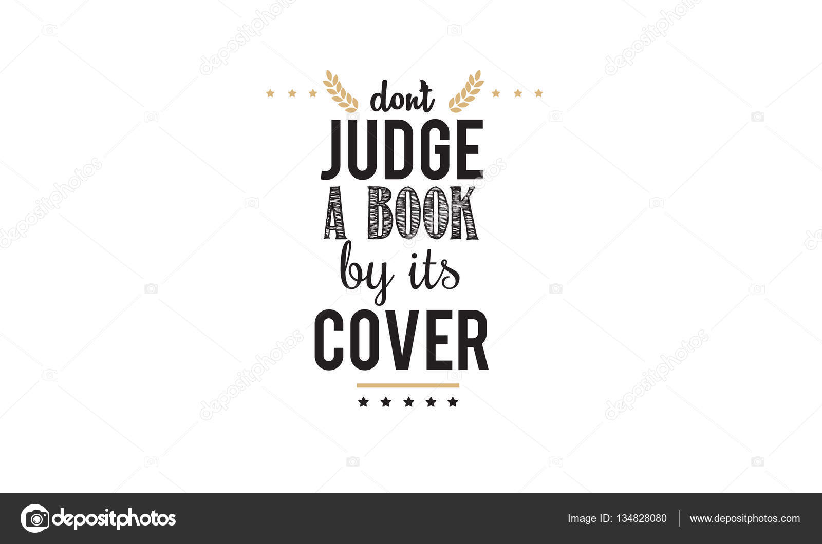 Quotes about judging a book by its cover. Not Being