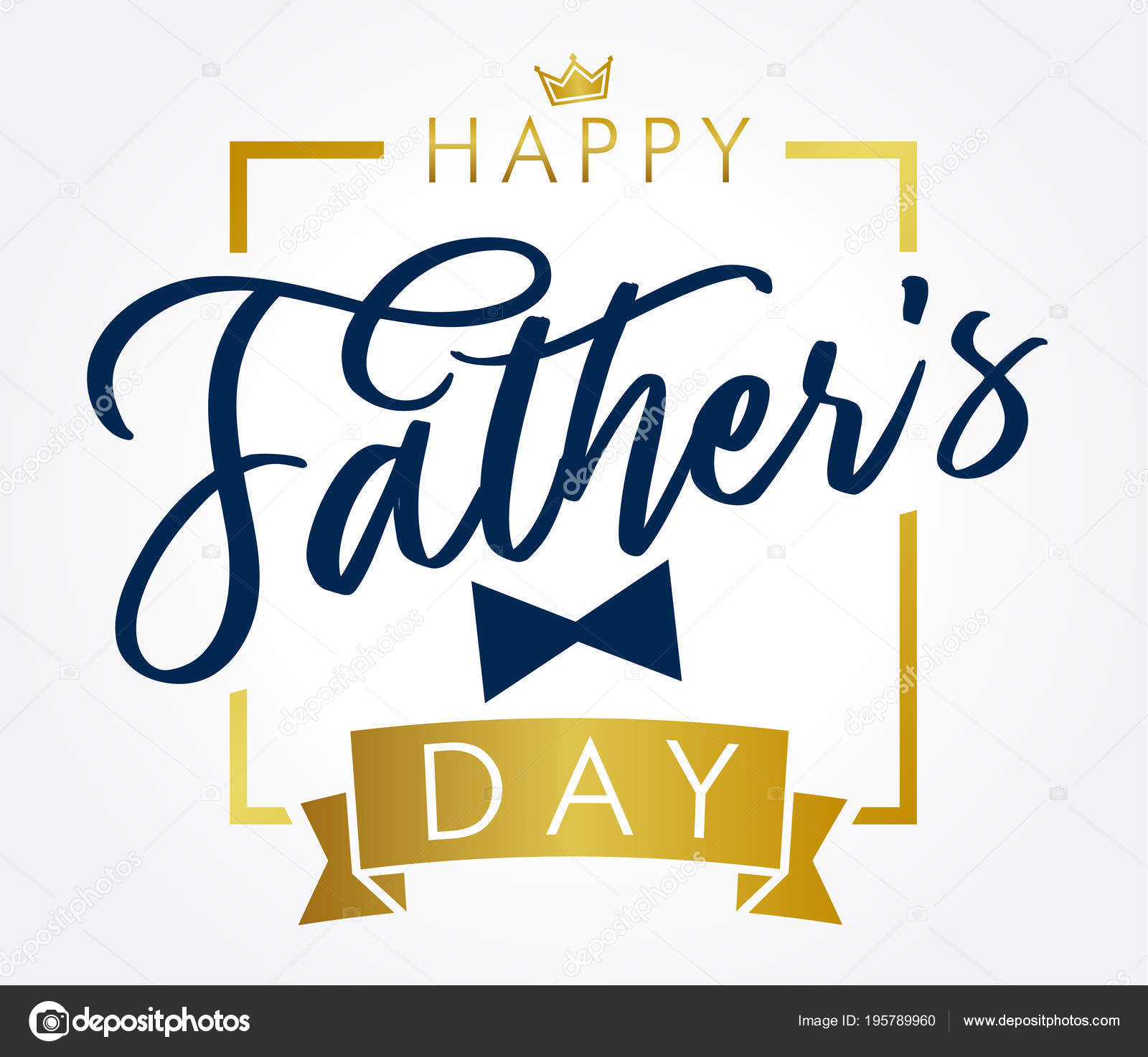happy father day golden
