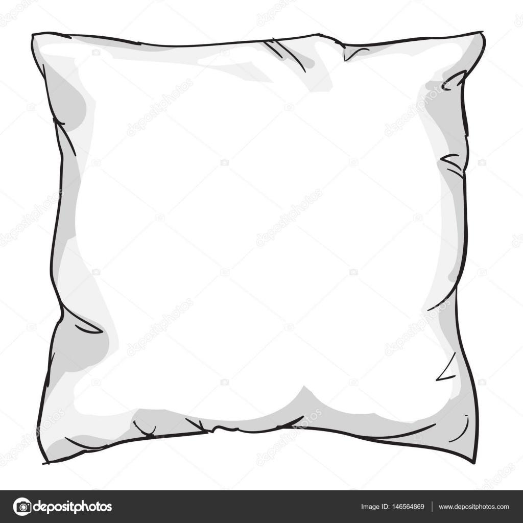 https depositphotos com 146564869 stock illustration sketch of bed pillow html