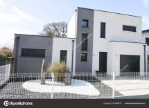 Modern Cube House White Grey Perfect Contemporary Style