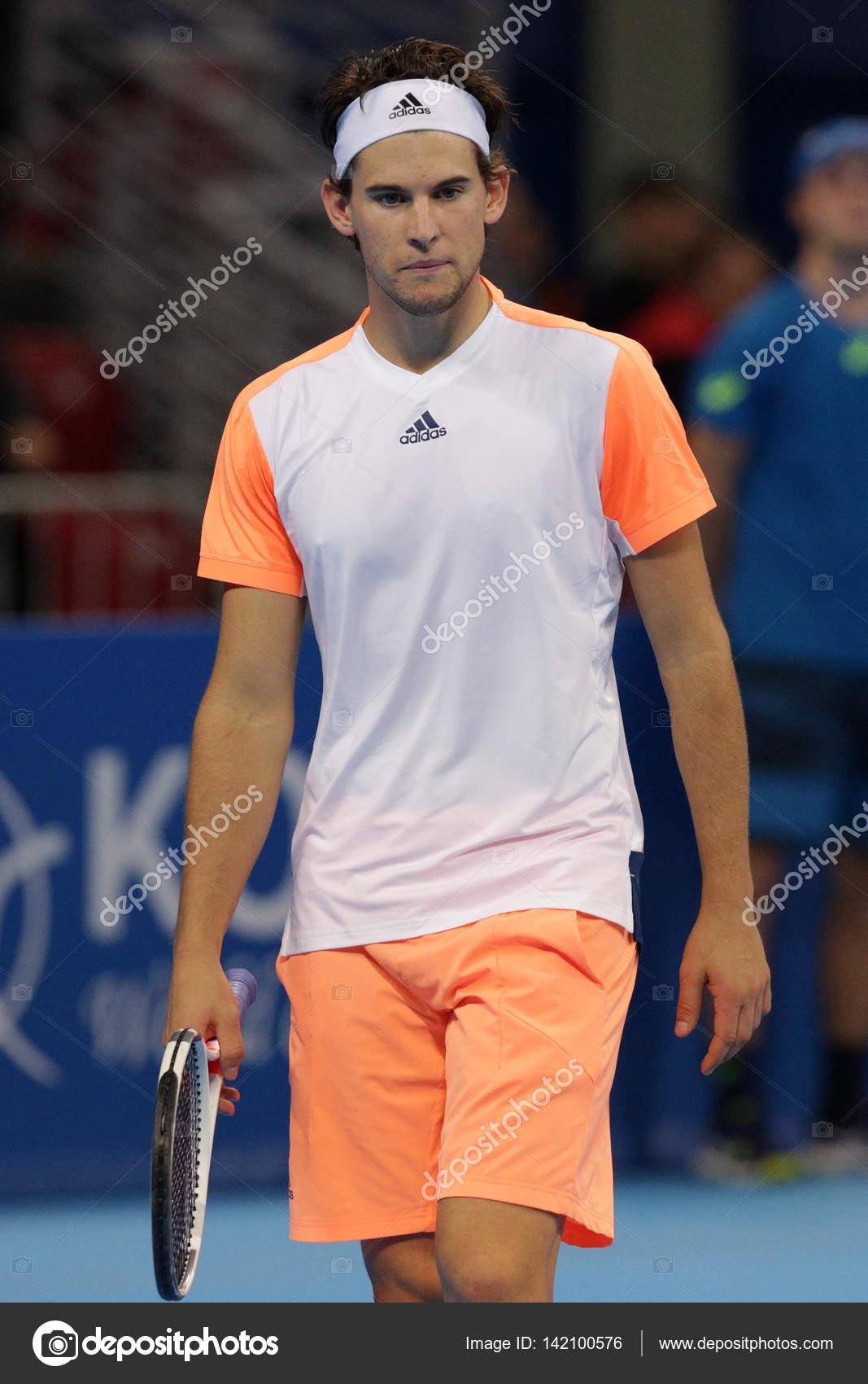 網球選手多米尼克蒂姆 — 圖庫社論照片 © Belish #142100576