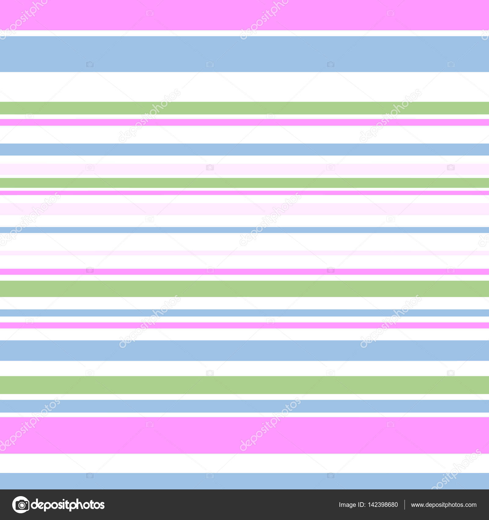 Pinstripe Pattern Background, Pastel Colors — Stock Vector