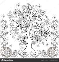 Imgenes: arbol para dibujar | Dibujo manos rbol con ...