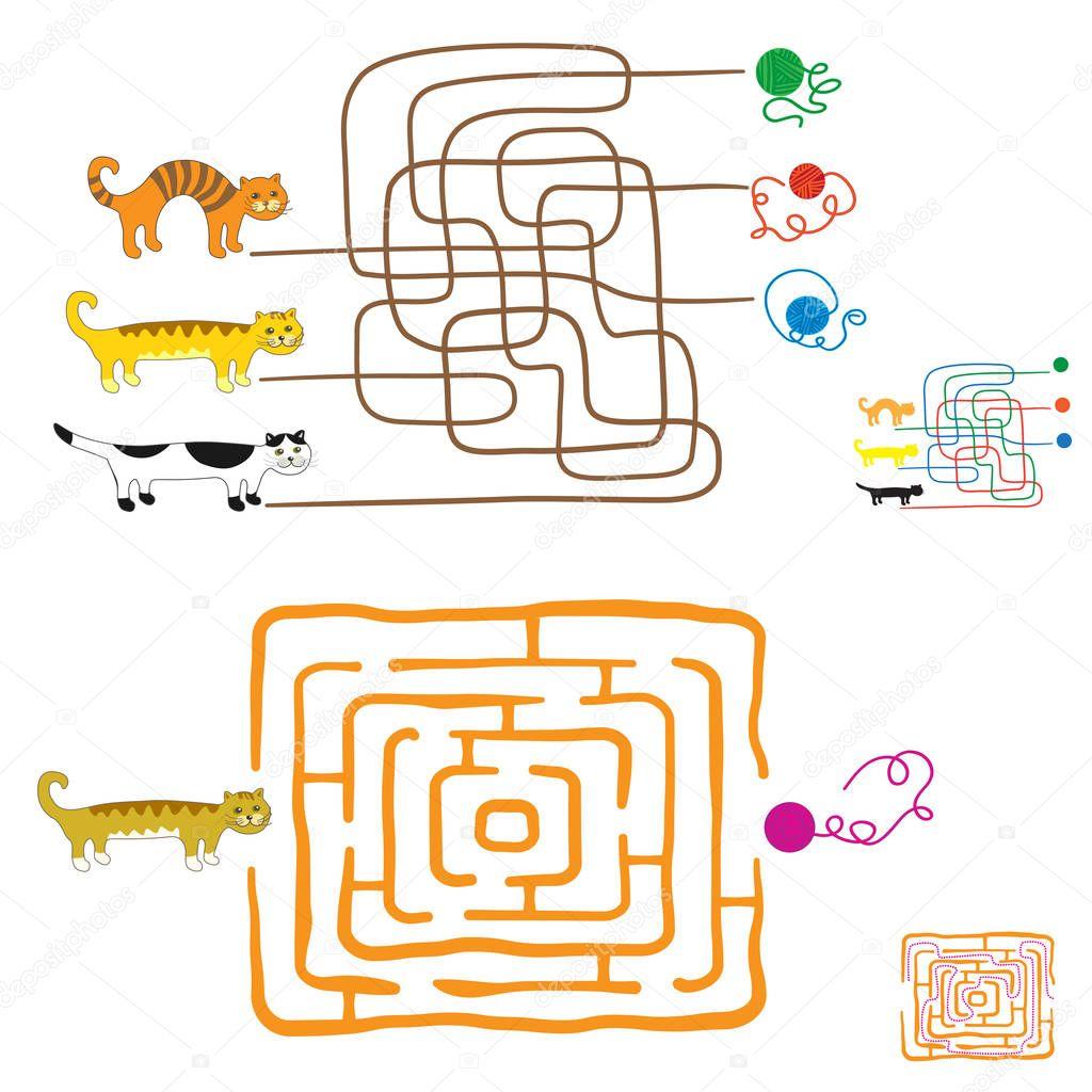 Juegos De Laberinto Para Ninos En Edad Preescolar