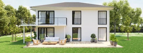 Browse the complete collection of pictures and design drawings Foto Di Casa A Due Piani Immagini Stock Professionali Rf Depositphotos