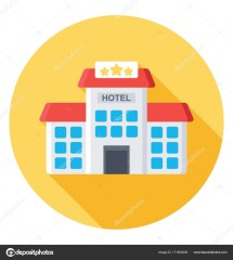 Five Star Hotel Vector Icon Stock Creativestall
