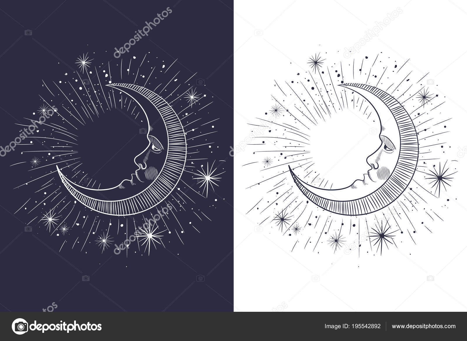 Pictures : sun moon and star tattoo designs | Face Sun Moon Stars ...