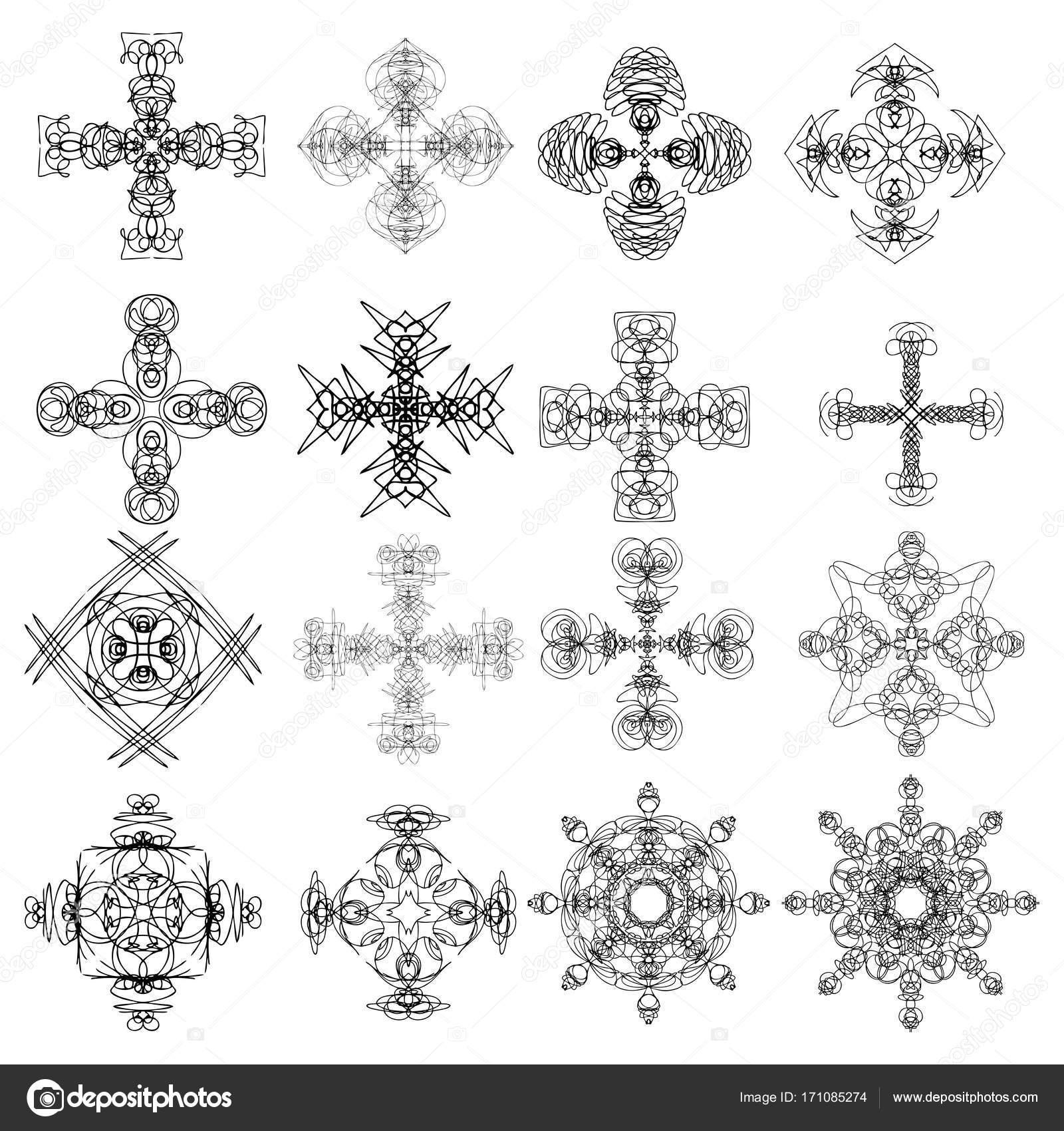 Tatuajes Indios Simbolos Caleidoscópica Mandala Inspirado