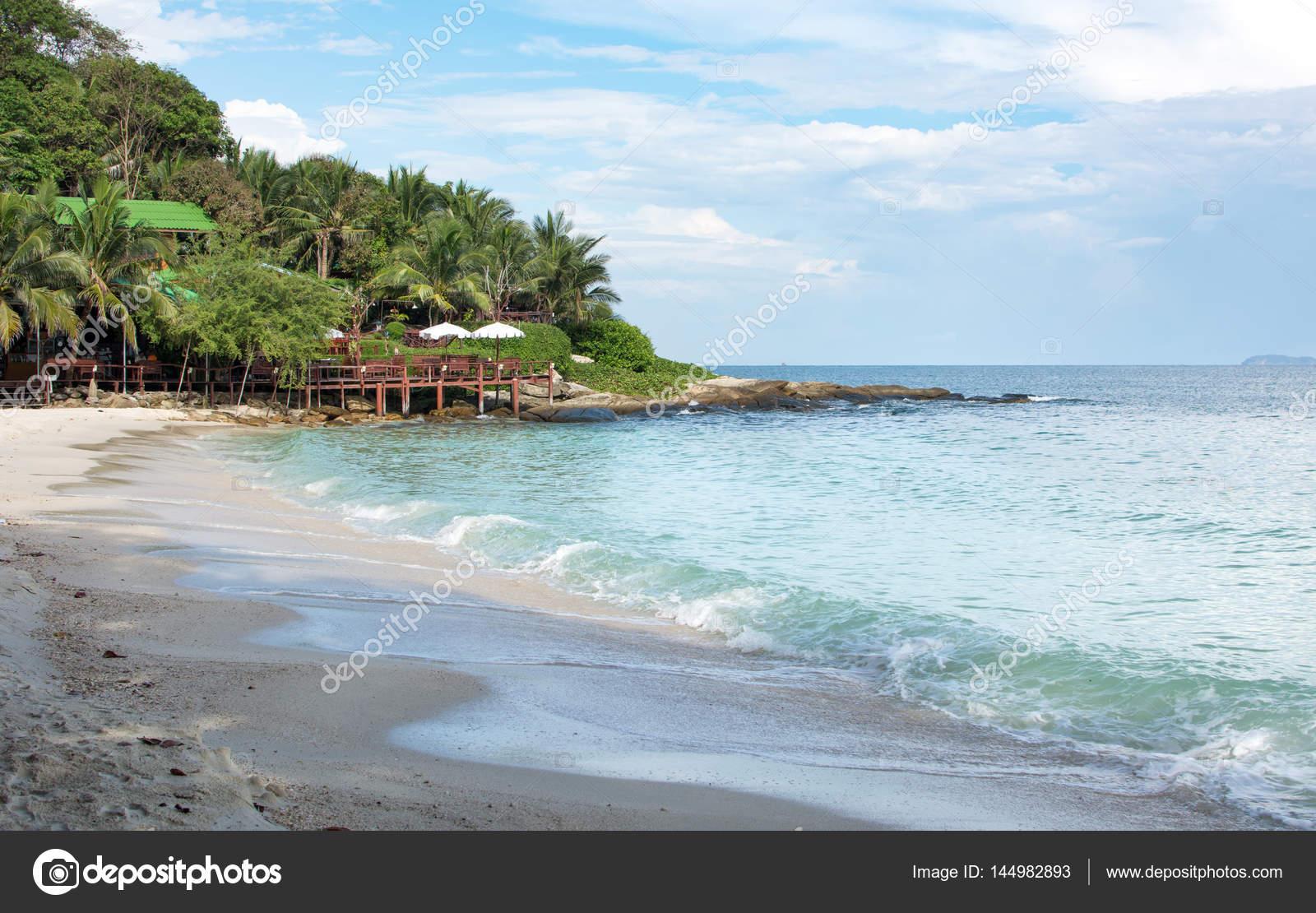 Hat Sai Kaew Beach At Koh Samed Island Thailand Stock